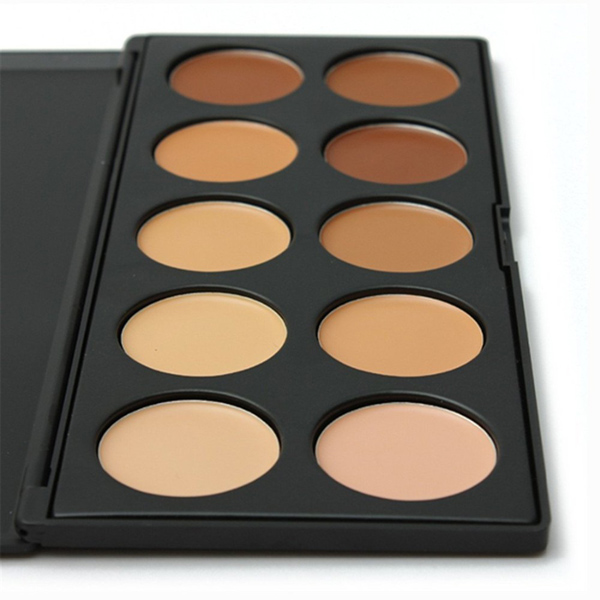 10 Colors Contour Face Eye Makeup Concealer Palette Neutral Kit