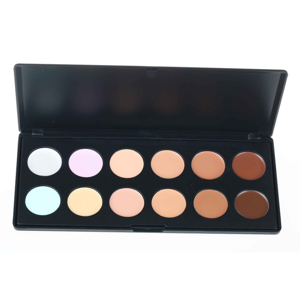 12 colors Face Concealer Neutral Palette 12 color Makeup tools scar cream Face Camouflage Body Foundation
