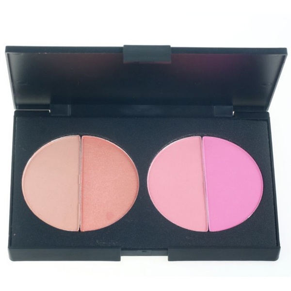 Professional Blush Palette 4 Colors Makeup Cosmetic Blush Make Up Blusher Powder Palette Set