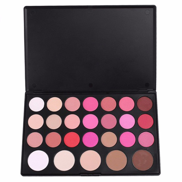 26 Color Make Up Combo Set Cheek Blush Blusher Powder Palette Professional Dresser Make Up