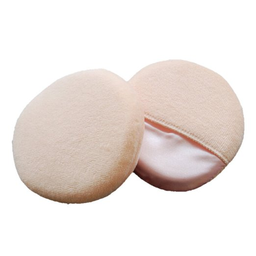 Round Soft Flawless Face Makeup Cosmetic Powder Puff