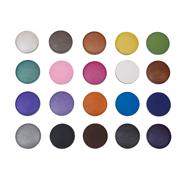 Charming Pro Eyeshadow Single Color Eyeshadow Palette in Iron Pan 20 Colors Available